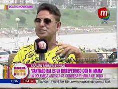"""Carmen Barbieri: """"Santiago Bal es un irrespetuoso con mi mamá"""""""