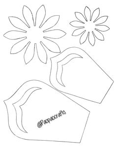 Best 11 Paper flower template for Cricut. SVG and PDF included – SkillOfKing. Large Paper Flower Template, Flower Petal Template, Paper Flower Patterns, Large Paper Flowers, Giant Paper Flowers, Paper Roses, Felt Flowers, Diy Flowers, Fabric Flowers
