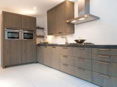 moderne houten keuken - Google zoeken