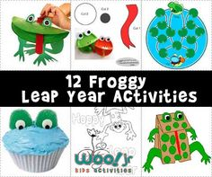 Leap Year activities, Leap Year crafts, Leap Year desserts and party ideas for kids to celebrate February 29th!