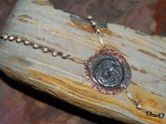 Antique repurposed crystal necklace by solagratiadesigns on Etsy, $65.00