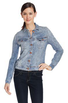 Venda Jeanswear / 28675 / Lee - Mulher / Camisolas e casacos / Casaco de ganga Azul claro