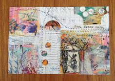 Ihanna postcard swap 2013. Original by Luanne Ripley Kreutzer.