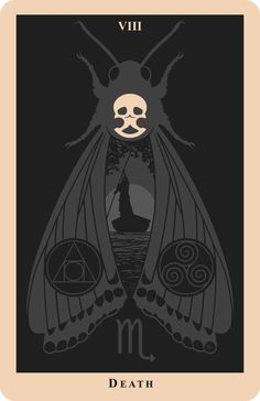 Death Tarot Card- If someone knows the artist PLEASE tell me.