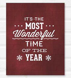 Most Wonderful Time