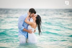 Karine and Dave / Mariage Sud / Dreams Palm Beach Punta Cana – Jellyfish restaurant / Destination wedding