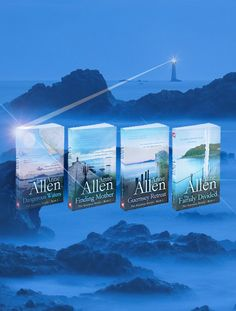 "The Guernsey Novels by Anne Allen. All four books featured at ""Look 4 Books"" www.look4books.co.uk"