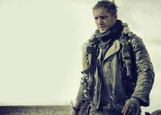 Check out the first image of Tom Hardy as Max Rockatansky in Mad Max: Fury Road.