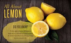 Fun Fact about the Young Living Essential Oils Friday:  Young Living Lemon Oil is a standard in our home. It is a safe and natural diuretic and it is composed of D-Limonene, a powerful antioxidant! https://www.facebook.com/lauraleelees.oils