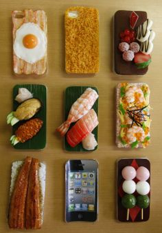 Utterly in lust with these mouth-watering iphone cases /via @hiredbelly