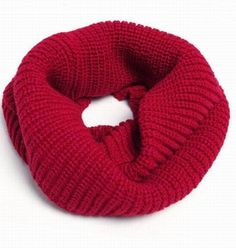 Chunky Knit Infinity Scarf! Yes Please!