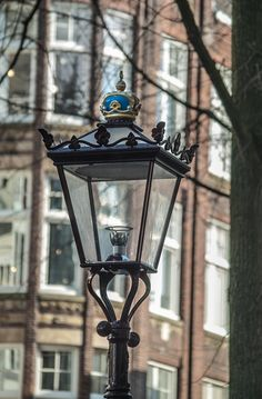 Amsterdam Photograph Lamppost Fine Art Photography door Paris1839, $15.00