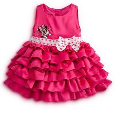 Minnie Mouse Dress for Baby - Ruffled