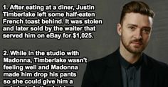45 Interesting Facts About Superstar Justin Timberlake.