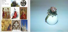 GotikART Hochzeitsring inkl. Schmuckdose von Megalii auf DaWanda.com