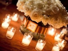 Votive Candle Wedding Centerpieces The Specialists