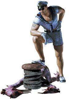Resident Evil: Revelations - Chris Redfield, Sailor Costume