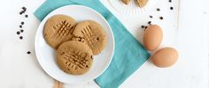 Peanut Butter Chocolate Chip Protein Cookies Recipe via @dailyburn