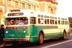 When the streetcars were abandoned in 1962, DC Transit purchased numerous used GM non-air conditioned buses as replacements... progress?