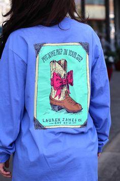 LAUREN JAMES: Prep in your Step {Periwinkle}   The Fair Lady Boutique