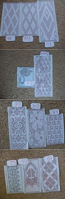 перфокарты и узоры для машинного вязания | Простые схемы. Экономим время на Постиле