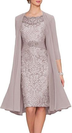online shopping for New Deve Newdeve Chiffon Mother Of The Bride Dresses Tea Length Two Pieces With Jacket from top store. See new offer for New Deve Newdeve Chiffon Mother Of The Bride Dresses Tea Length Two Pieces With Jacket Mob Dresses, Tea Length Dresses, Fashion Dresses, Formal Dresses, Chiffon Dresses, Wedding Dresses, Women's Fashion, Dresses Online, Fashion News