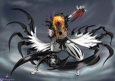 Ichigo in hollow form