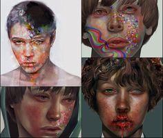 Ydk Morimoe Paintings
