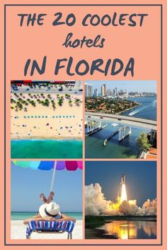 Where to Stay in Florida: A List of 20 Amazing Hotels.     And yes, Ive stayed in all of these Florida hotels over the years! Whether youre looking for beachfront, near the theme parks or a romantic getaway... Ive got them all covered! #FloridaHotels #WhereToStayInFlorida