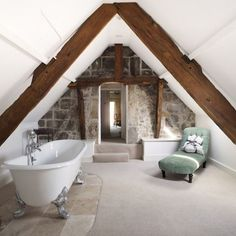 Home Decor Kmart 28 Amazing Genius Attic Bathroom Remodel Design Ideas 28 Amazing Genius Attic Bathroom Remodel Design-Ideen # Badezimmerdekor Decor Kmart Attic Bathroom, Attic Rooms, Attic Spaces, Small Bathroom, Bathroom Ideas, Bathroom Green, Attic Playroom, Attic Apartment, Bathroom Inspiration