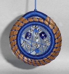 Pine needle ornament