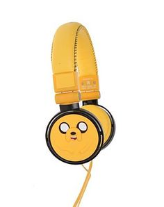 Adverture Time Jake headphones HOTTOPIC