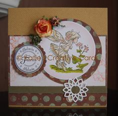 Lili of the Valley hand stamped & coloured card by sarahhartland1, $9.00