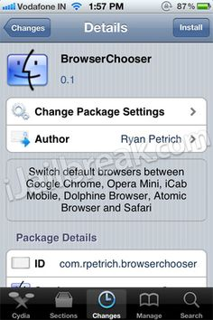 Now make Google Chrome your default browser through Browser Chooser