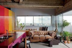Guto Requena assina tríplex muito flexível - Casa Vogue   Interiores