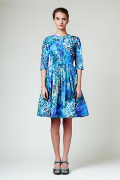 RACHEL  Cotton Dress Made of Liberty Fabric by Mrs by mrspomeranz, £440.00