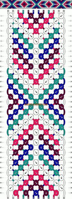 12 fils et 5 couleurs