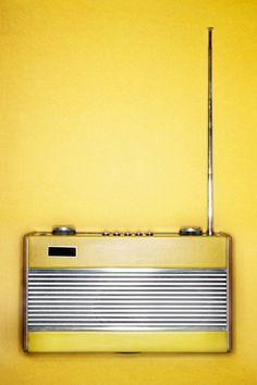 vintage transistor rádio
