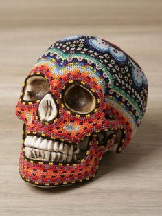 Huichol People Bead Art