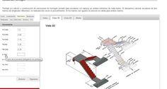 Tutorial para calcular una #escalera de #hormigon con la herramienta de #calculo online e-struc