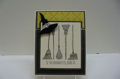 SC556 Broom Ride by octoberbabe - Cards and Paper Crafts at Splitcoaststampers