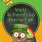 Looking for a fun way to review fractions and equivalent fractions with your students?  Your kids will love these fun St. Patrick's Day themed game...