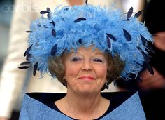 Milestone Birthday for Queen Beatrix: The Funny Hats – Royal Hats Royal Tiaras, Royal Crowns, Hat Cake, Irene, Funny Hats, Love Hat, Milestone Birthdays, Royal House, Royal Fashion