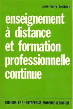 ʺEnseignement à distance et formation professionnelle continueʺ Editions ESF