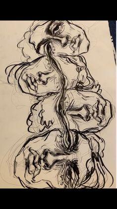 Art Inspo, Kunst Inspo, Art Hippie, Art Du Croquis, Arte Sketchbook, Sketchbook Ideas, Sketchbook Inspiration, Journal Inspiration, Aesthetic Art