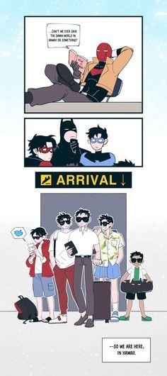 Superman X Batman, Batman Robin, Marvel Dc Comics, Wayne Family, Bat Family, Jason Todd, Marvel Funny, Funny Comics, Batfamily Funny