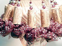 Wine cork ornaments :):