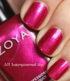 Zoya-izzy nail polish. Never been in love with a nail polish brand until this. Wearing izzy now. Very festive!