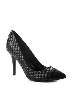 Quilted Court Shoes