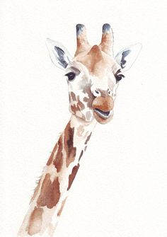 awesome animal watercolors that would be sweet for a nursery